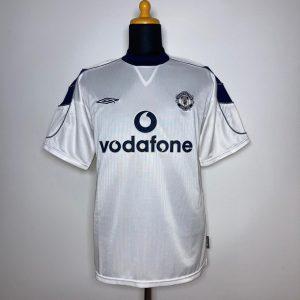 2000 01 Manchester United Away MINT M Umbro 1
