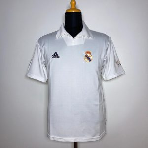 2001 02 Real Madrid Centenary Home Excellent M 156653 Adidas