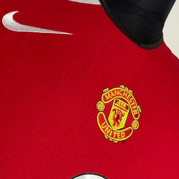 2004 06 Manchester United Home LS Very Good S Nike 4