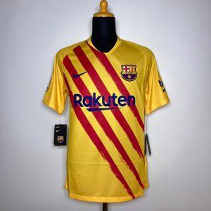 2019 20 Barcelona Senyera Fourth BNWT M CT2527 727 Nike 1