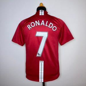 2007 08 Manchester United Home Ronaldo